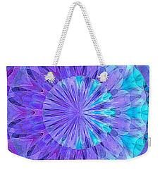 Crystal Aurora Borealis Weekender Tote Bag