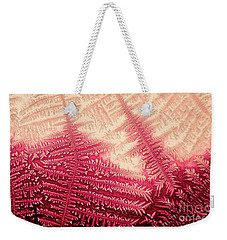 Crystal Of Ammonium Chloride Weekender Tote Bag