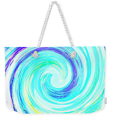 Crystal Blue Persuasion  Weekender Tote Bag by Marianne Campolongo