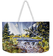 Crystal Creek Weekender Tote Bag