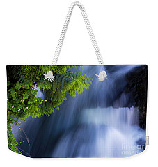 Crystal Creek Waterfalls Weekender Tote Bag