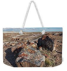 Crystal Forest Stump Weekender Tote Bag