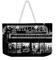 Crystal Lils And Cotton Candy Bw Weekender Tote Bag