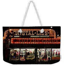 Crystal Lils And Cotton Candy Weekender Tote Bag