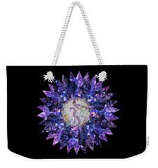 Crystal Magic Mandala Weekender Tote Bag