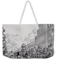 Crystal Palace Weekender Tote Bag by Pat Nicolle