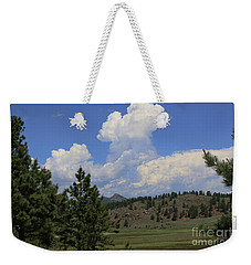 Weekender Tote Bag featuring the photograph Crystal Peak Colorado by Jeanette French