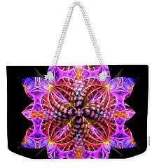 Crystal Petals Weekender Tote Bag