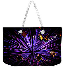 Weekender Tote Bag featuring the photograph Crystal Reports by Johnny Lam