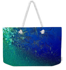 Weekender Tote Bag featuring the photograph Crystal Sea by Danielle R T Haney