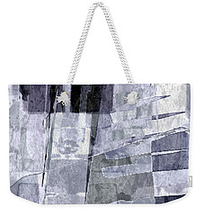 Crystal Silver Weekender Tote Bag by Tlynn Brentnall