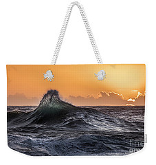Crystal Wave Sunset Napali Coast Kauai Hawaii Weekender Tote Bag