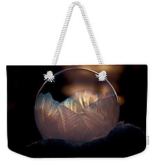 Crystallizing Bubble Weekender Tote Bag by Loni Collins