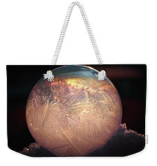 Crystallizing Bubble2 Weekender Tote Bag