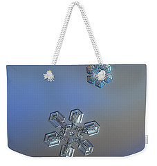 Weekender Tote Bag featuring the photograph Crystals Of Day by Alexey Kljatov