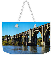 Csx A-line Bridge Weekender Tote Bag