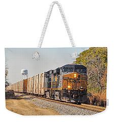 Csx - Tropicana Juice Train Weekender Tote Bag by John Black