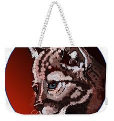 Cub Weekender Tote Bag by Terry Frederick
