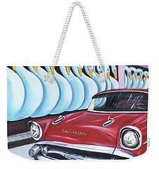 Cuba-3 Weekender Tote Bag