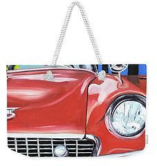 Cuba Taxi - 01 Weekender Tote Bag