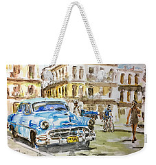 Cuba Today Or 1950 ? Weekender Tote Bag