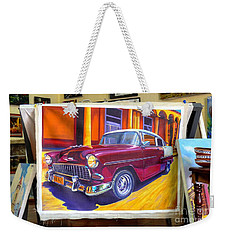 Cuban Art Cars Weekender Tote Bag