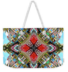 Cuban Kaleidoscope Weekender Tote Bag