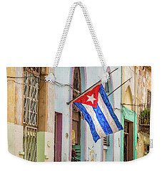 Cuban Pride Weekender Tote Bag