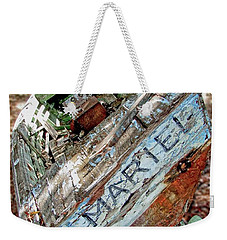 Cuban Refugee Boat 3 The Mariel Weekender Tote Bag