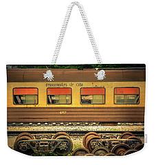 Cuban Train Weekender Tote Bag