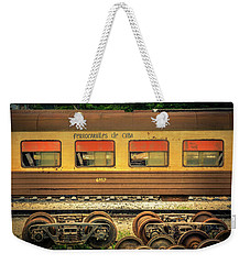 Cuban Train Weekender Tote Bag