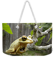 Cuban Tree Frog 001 Weekender Tote Bag