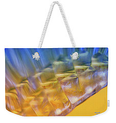 Cubes Of Light Weekender Tote Bag by Dennis Baswell
