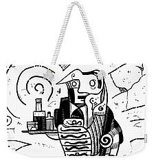 Cubist Waiter Weekender Tote Bag