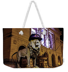 Cubs Lion Hearts Weekender Tote Bag