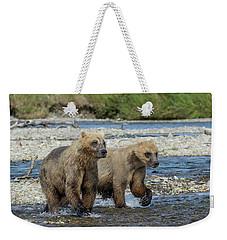 Cubs On The Prowl Weekender Tote Bag