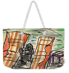 Lounge Chairs Weekender Tote Bag