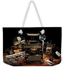 Weekender Tote Bag featuring the photograph Cubs Win The Pennant by Ken Smith