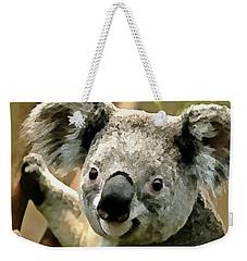 Cuddly Koala Weekender Tote Bag