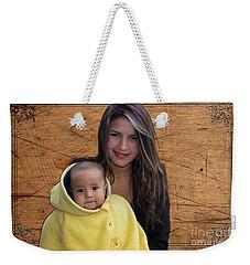Cuenca Kids 878 Weekender Tote Bag by Al Bourassa