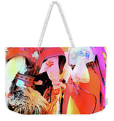 Weekender Tote Bag featuring the photograph Cuenca Kids 884 by Al Bourassa