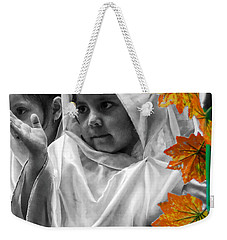 Weekender Tote Bag featuring the photograph Cuenca Kids 885 by Al Bourassa
