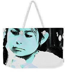 Weekender Tote Bag featuring the photograph Cuenca Kids 886 by Al Bourassa
