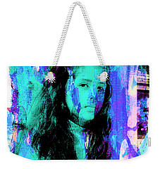Weekender Tote Bag featuring the photograph Cuenca Kids 892 by Al Bourassa