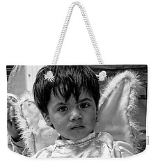 Weekender Tote Bag featuring the photograph Cuenca Kids 893 by Al Bourassa