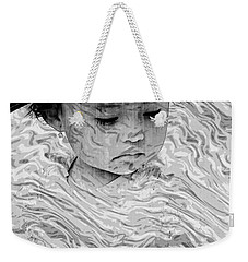 Weekender Tote Bag featuring the photograph Cuenca Kids 894 by Al Bourassa