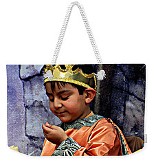 Weekender Tote Bag featuring the photograph Cuenca Kids 903 by Al Bourassa