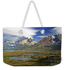 Cuernos Del Pain And Almirante Nieto In Patagonia Weekender Tote Bag
