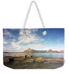 Cuillin Mountain Range Weekender Tote Bag