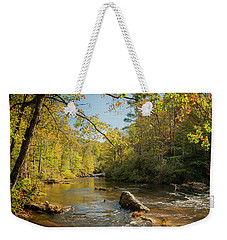 Cullasaja River Nc Weekender Tote Bag